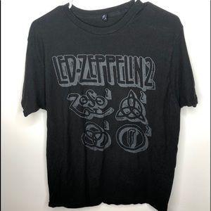 Led-Zeppelin Black T- Shirt